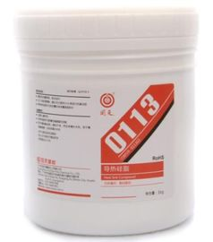 0113 Thermal Conductive Grease / Silicone Thermal Grease 0113 untuk CPU dan chip LED